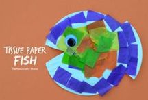 Paper Plate Crafts / Using paper plates to make arts and crafts!