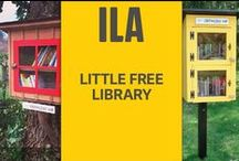 Little Free Library / By planting a Little Free Library in their own communities, students can make a lasting impression and result of International Literacy Day 2015. / by International Literacy Association