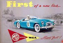 MGA flyers / Collection of MGA flyers