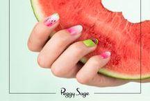 Nail art / Découvrez nos look nail art à reproduire avec vos vernis Peggy Sage !