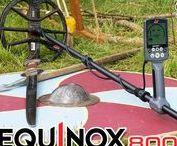 MINELAB EQUINOX Metal Detector / NEW Minelab Metal Detctor Metalldetektor EQUINOX 600 + 800