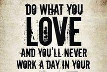 my biz inspiration board / inspiration to help grow my little biz