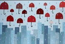 Paraguas y sombrillas / by Sysbel