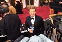 Red Carpet  / My husband Sandy Kenyon, entertainment reporter for WABC-TV in New York, covers the Oscars every year.  He's also a skilled photographer, which makes for some tasty shots from the red carpet and beyond.