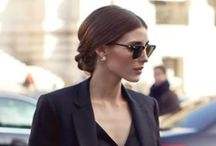 Style Icon - Olivia Palermo / Whatever this woman wears, she carries off so gracefully with such a strong touch of elegance!