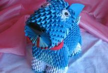 origami 3d / origami 3d inventati,re-interpretati...