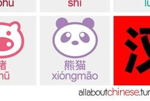 Chinese Vocab Prints & Posters / Chinese Printouts for Children
