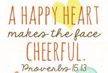 Happy Happy Happy / Happiness Inspiration