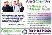 Melton Mowbray Carpet and Upholstery Cleaning / A&G Chem-Dry have been delighting customers in Melton Mowbray with cleanest, brightest, freshest Carpets, Rugs and Upholstery since 1995.