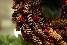 Christmas ♥ DIY & Pine Cone / Vánoce * DIY & Šišky