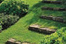 Garden ♥ Path & Steps ★ / Zahrada * Cestičky & Schody