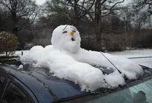 Mood ♥ Snowman Ideas / Nálada * Sněhulácké Nápady