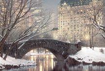 Mood ♥ Winter & Town / Nálada * Zima & Město