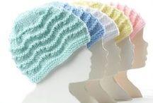 Čepičky pro naše dětičky / Háčkované i pletené čepičky,kloboučky