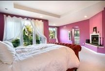 Color Inspiration: Bedrooms / Paint color can be used to transform the feel of a bedroom from relaxing to comforting. Make your bedroom your own personalized space! Find color inspiration for your bedroom renovation or bedroom DIY decorating project.