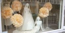 Windows Displays / The Couture wedding dress designer to see in London for bespoke luxury wedding dresses. A collection of images of our window to the world.
