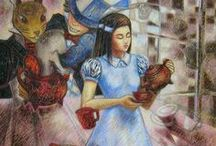 Alice in Wonderland / One of the stories that left its mark on my childhood then on my professional career...