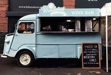 FOOD TRUCK citroen hy & co mobile caffee / Street food cafe / Citroen H Van ( hy ) inspirations & other street food caffee stuff