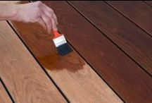 DIY Deck Revitalizations / You can give new life to time-worn wood and concrete decks! Try using Revitalize Wood and Concrete Resurfacer. Or protect your outdoor wood with Weatherscreen® Exterior and Ultra Advanced Exterior Clear Waterproofing Sealant. Have questions about how to protect, seal, paint or stain your deck or wood project? Check out below for helpful tips and tricks. Learn more about other deck painting, deck weather proofing, deck cleaning & deck maintenance tips.