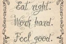 Nutrition // Fitness / My fitness goals, motivation, nutrition, balance