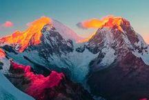 Mountains' Majesty / Beautiful scenic sights... Mountains around the world