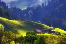 Switzerland / One of the most beautiful countries on earth, Switzerland has heavenly scenery as well as art and culture.