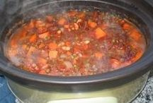 Vegan Soups and Stews / Recipes for vegan soups and stews!