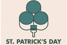 St. Patrick's Day Paint Colors / Find inspiration on how to use Pittsburgh Paints and Stains products to make gifts for St. Patrick's Day and decorations to celebrate St. Patrick's Day