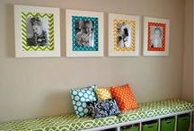 Playroom / Great ideas to keep playrooms tidy but also fun