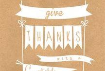Thanksgiving / recipes, crafts, DIY ideas, home decor