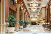 GRAND | ENTRANCES / Extraordinary Grand Hyatt lobbies around the world.  #bold #luxury #service