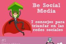 Redes Sociales / Infografías sobre las diferentes #redessociales: usos, trucos, tutoriales...