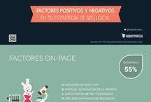 SEO / Infografías con herramientas y consejos sobre SEO