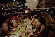 Hello,FOLKS!-8- / Hello,FOLKS!-8- Thursday, December 10th @MinamiIshidoCho Community Hall