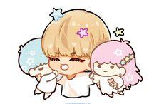 Cute (kpop fanart)