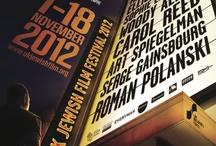 UK Jewish Film Festival Programme Covers / by UK Jewish Film