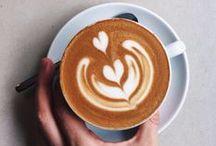 daily ▽ / Coffee, coffee and coffee. Slow mornings, loads of coffee and sometimes tea.