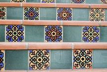 Pool Tiles / A collection of pool tile photos.  Good inspiration for building a pool!