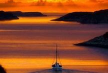 Sunsets and Sunrises of Greece