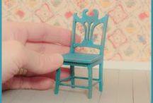 Dollhouse furnitures / Dollhouse furnitures made by Maria Malmström