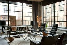 Dream Rooms / Loft living, interior space, city life, my aesthetic  / by Cortney Jackson