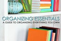 I Need Some Organization! - Tips / I love to be organized. But time seems to get in the way. If I am not organized I waste time. If I am organized it takes extra time. What is a girl to do?