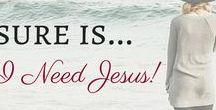 I NEED JESUS! / We are truly blessed to be Loved By God! All things to Glorify Him! Busyness tries to get in our way and we have to step back and declare I NEED JESUS! Jesus is My Savior and the Love of My Life.  Nothing else will do! AMEN! Let's pour out His abundant grace on others as God has poured down on us and thanks for joining me! Pin away anything that Declares I NEED JESUS!