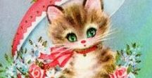 Vintage greeting cards ♥
