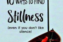 !Be still! And Let God Be God!