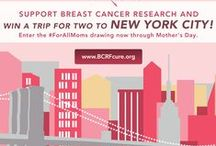 Mother's Day Is #ForAllMoms! / This Mother's Day, be a part of our #ForAllMoms movement & show your support for breast cancer research! Make a donation for your chance to win a trip for two to New York City or win one of three fabulous gift packages from our brand partners! / by The Breast Cancer Research Foundation