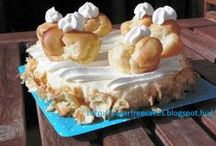 Sugar free cakes / How to calculate the carb content of desserts. Sugar free recipes. Diabetic cakes.