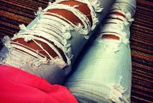 All time LOVE❤️RIPPED JEANS