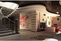 Architektura wnętrz / Interior design / Sufitowe aranżacje / Ceiling arrangements