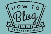 Blogging Baby Steps / Everything you need to know as you begin your journey as a blogger. / by Davina@BusinessBrokenDown